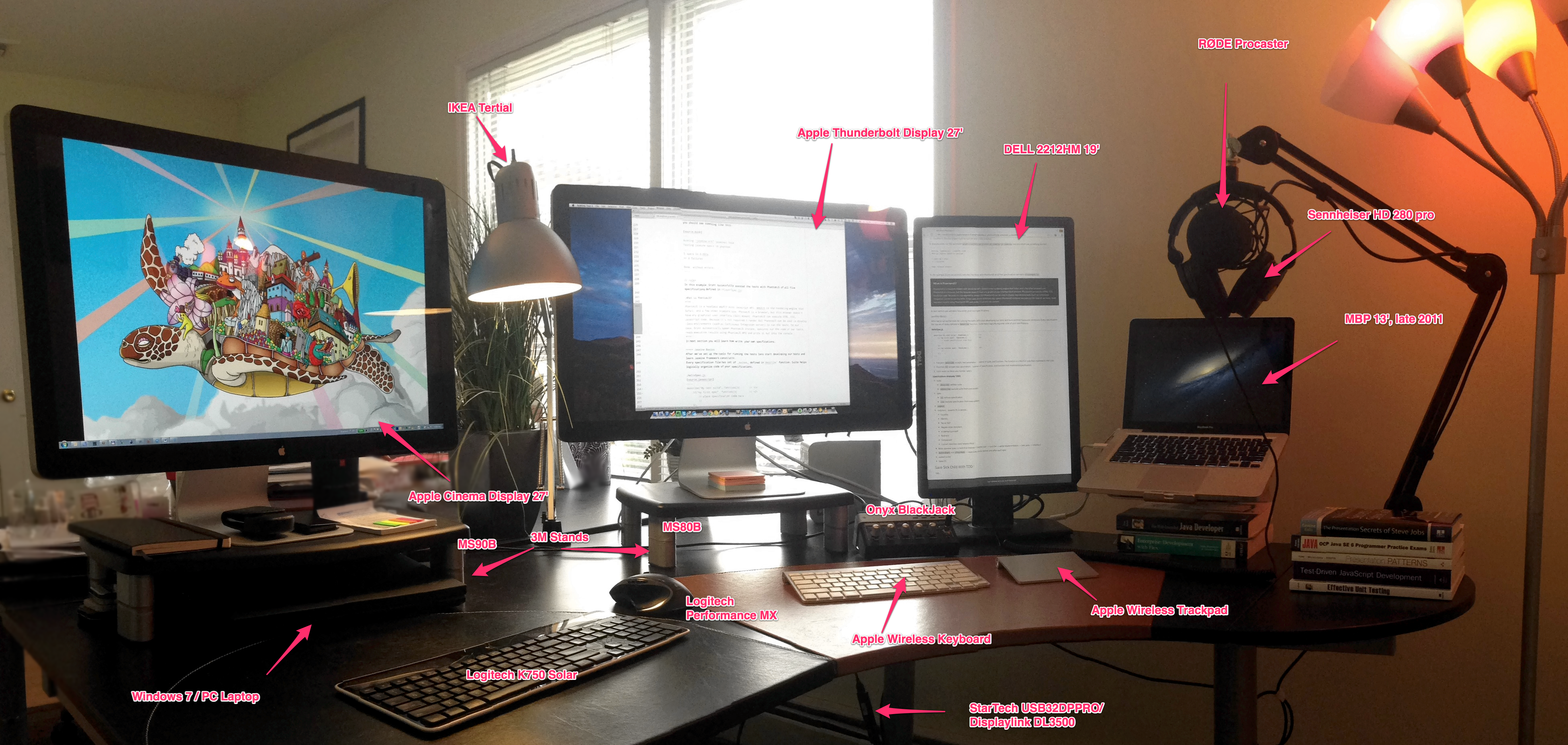 The Workspace Of A Modern Programmer Yakov Fain S Blog